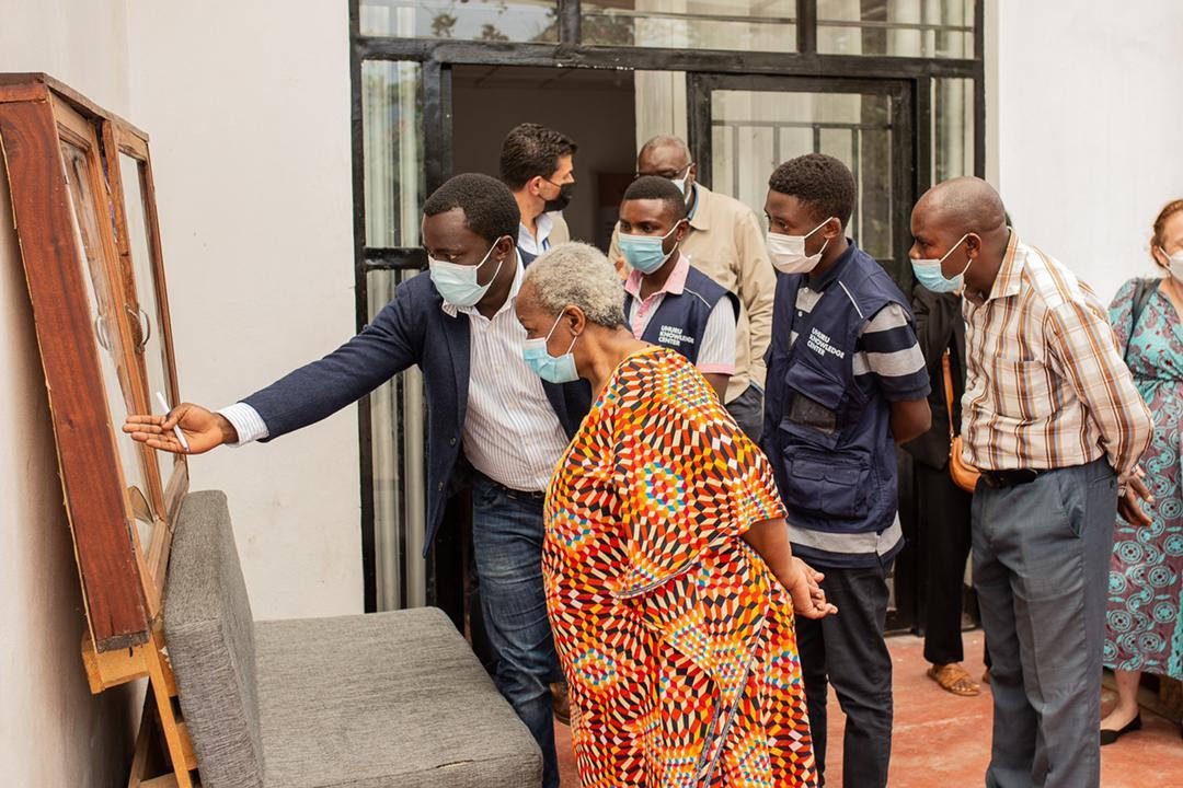Bintou Keita a visité « Uhuru Knowledge Center » à Goma pour soutenir le changement et la promotion de la paix au Nord-Kivu