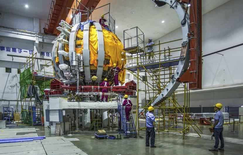 Fusion nucléaire : le soleil artificiel chinois bat son record de température