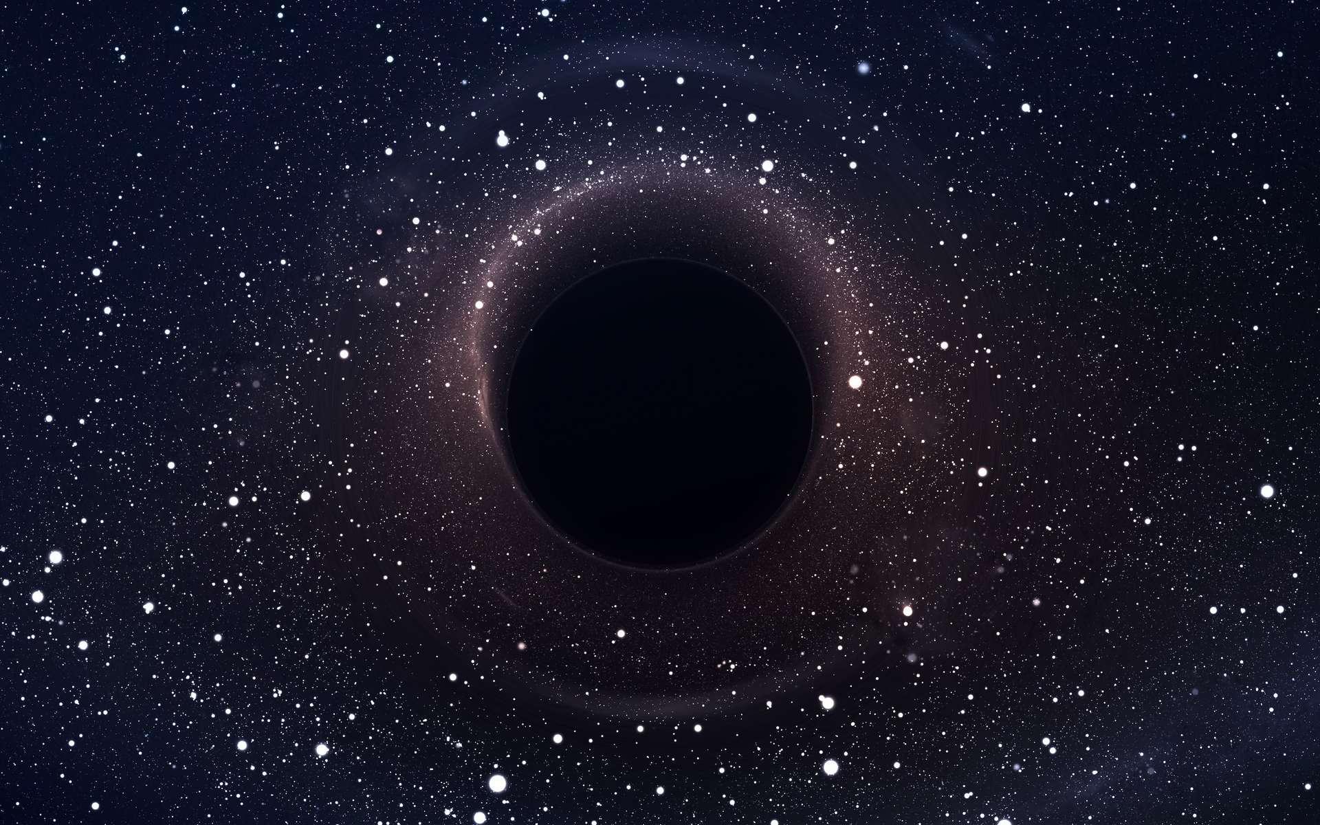 Espace : Et si le trou noir au centre de la Voie lactée était en fait… de la matière noire?