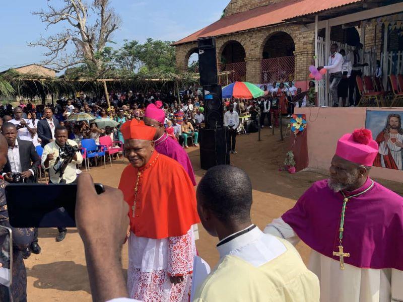Sacre de Mgr Joseph-Bernard Likolo à Lisala : Les remontrances du cardinal Fridolin Ambongo sur les politiciens de la Mongala !