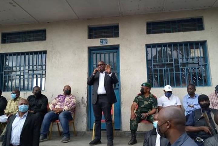 Sama Lukonde exhorte les humanitaires à mettre sur pied des mesures d'encadrement des sinistrés de Goma
