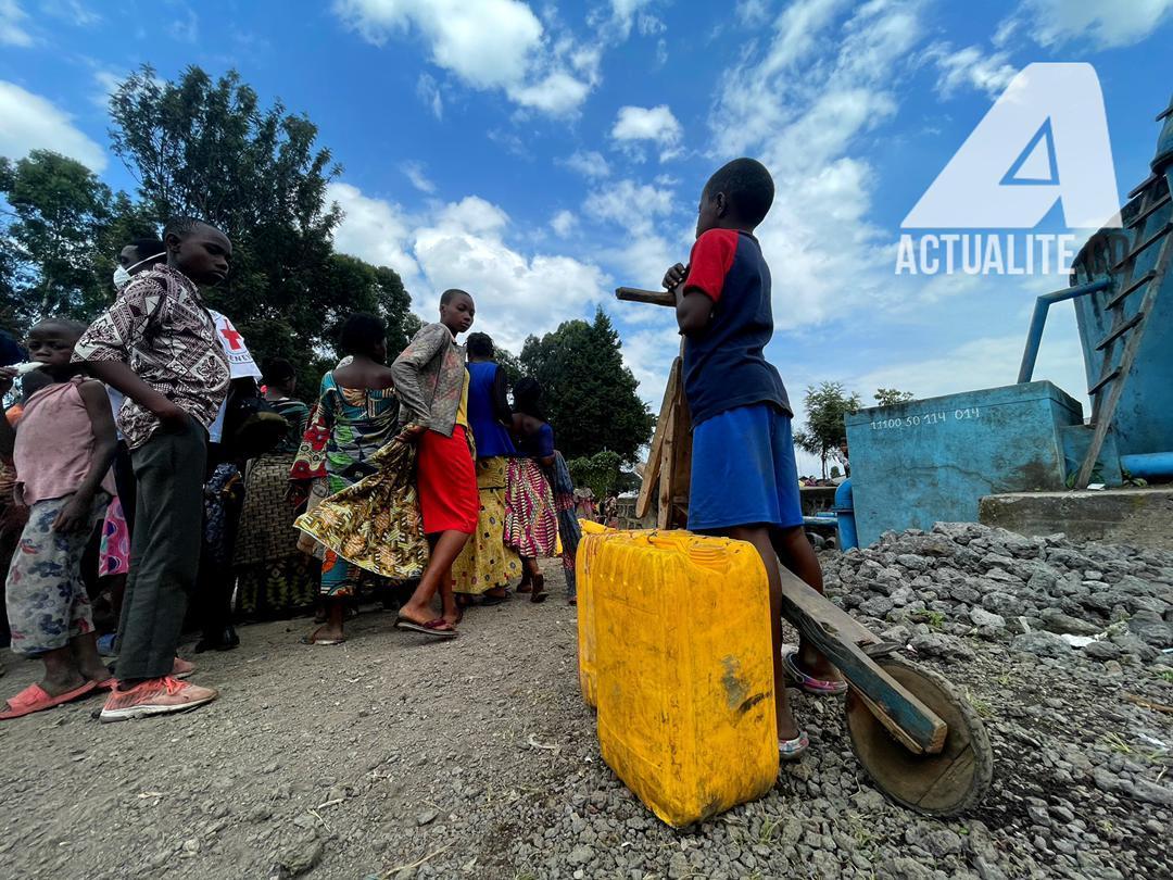 RDC-Goma: l'urgence de rétablir l'approvisionnement en eau pour environ 200.000 personnes