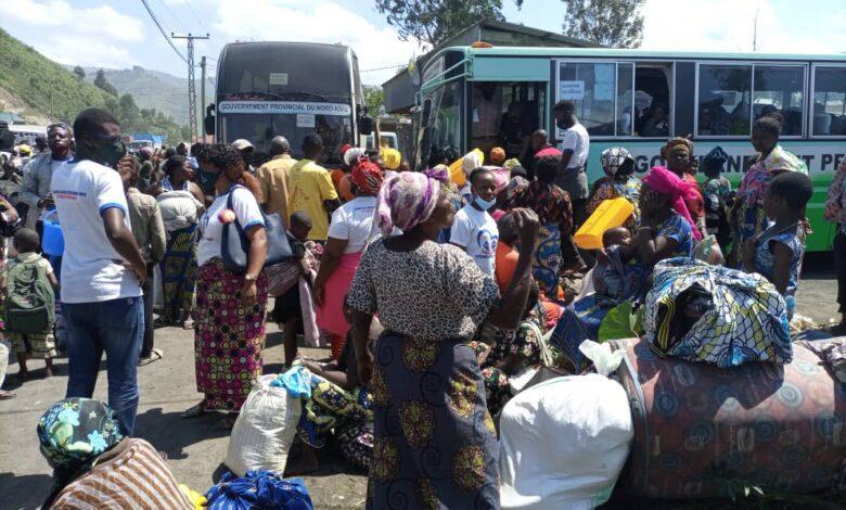 Goma : La première vague de déplacés a regagné la ville