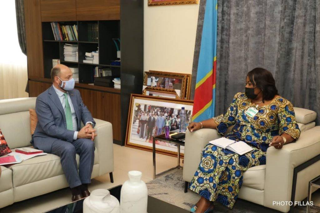 La Coopération judiciaire belgo-congolaise au centre des échanges entre l'ambassadeur belge et Rose Mutombo