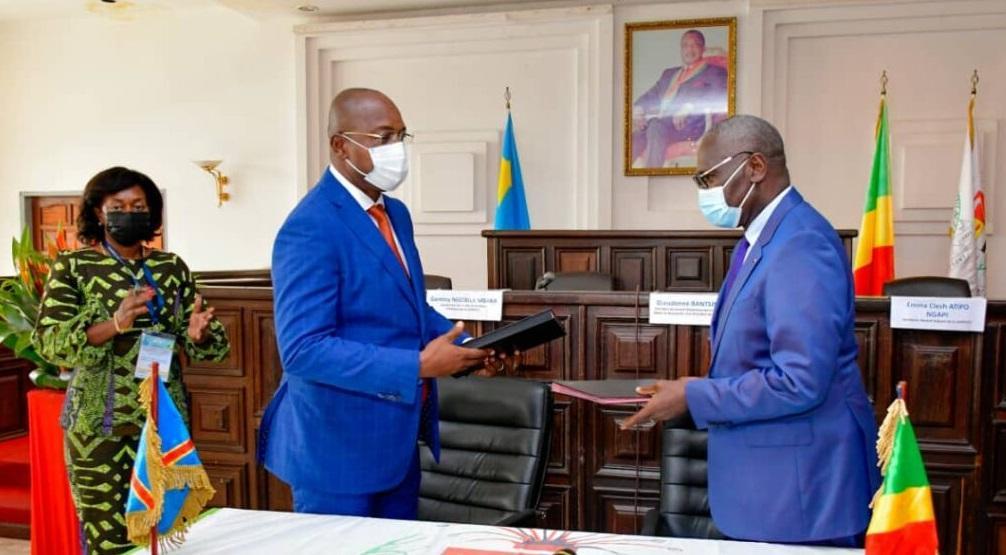 Gentiny Ngobila prend le tête de la COSPECO pour deux ans
