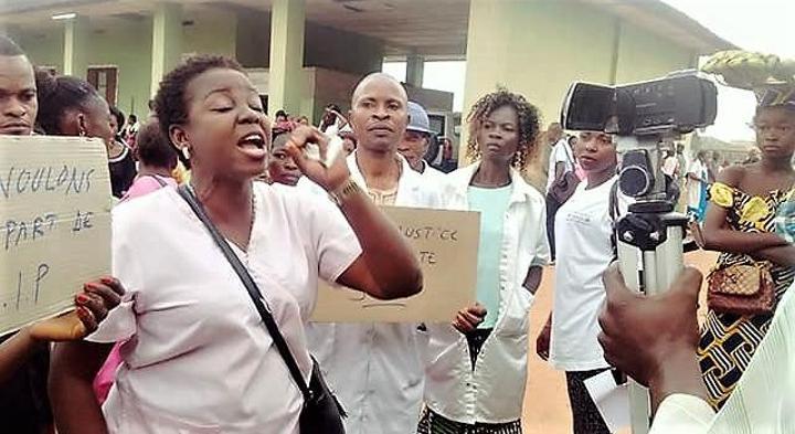 Maniema : les personnels infirmiers et administratifs du secteur de la santé en grève généralisée