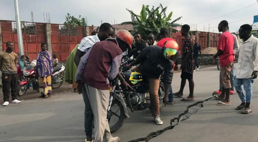 Sud-Kivu: des tremblements de terre ressentis depuis mercredi, des dégâts à Kamituga