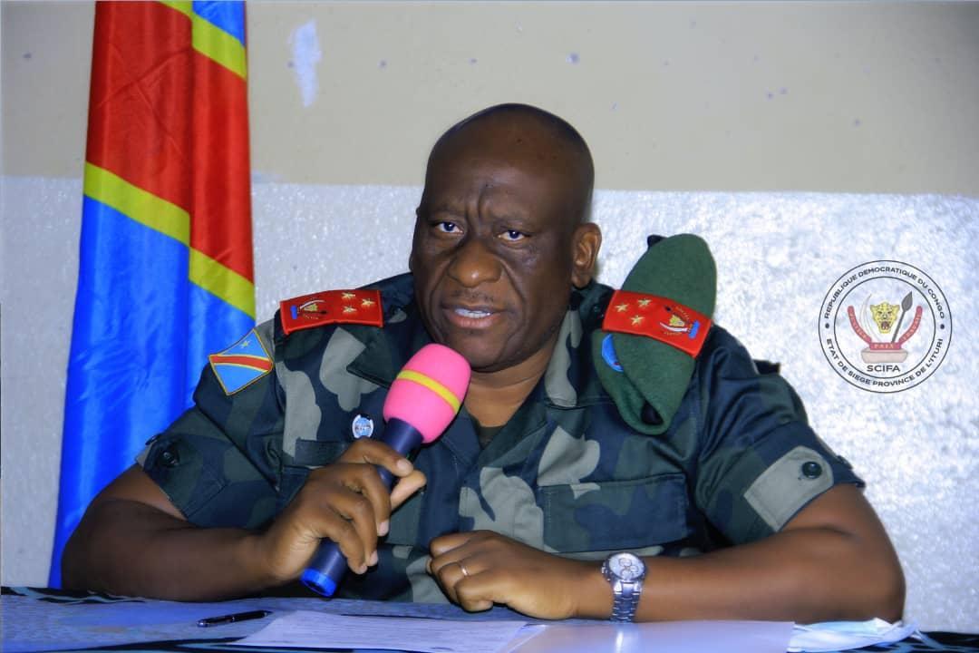 Ituri : le gouverneur militaire fixe les frais de participation à l'Exetat et Tenafep édition 2021