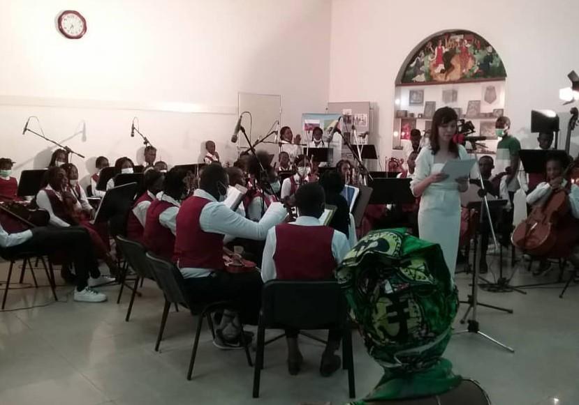 Musique classique : l'Orchestre symphonique des enfants de Brazzaville plus qu'applaudi
