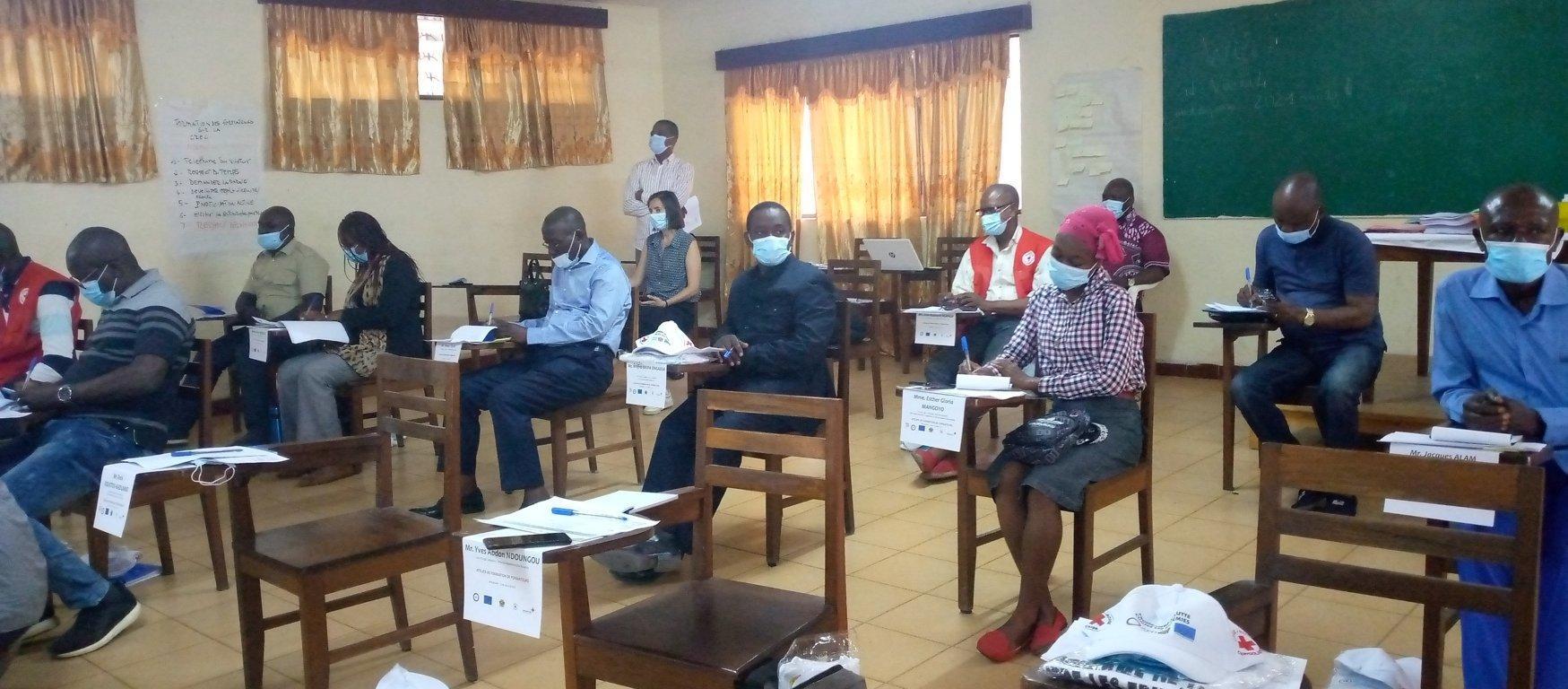 Croix-Rouge congolaise : les délégués renforcent leur capacité dans la riposte aux épidémies