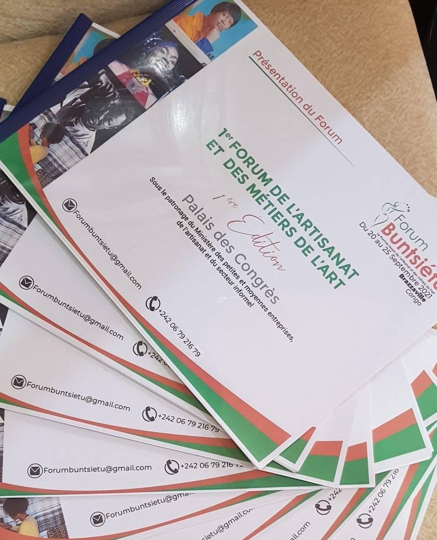 Forum de l'artisanat et des métiers de l'art : la première édition prévue du 20 au 25 septembre à Brazzaville