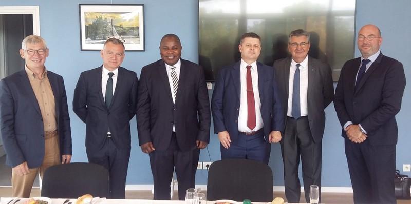 L'union portuaire rouennaise prête à accompagner la politique maritime au Congo
