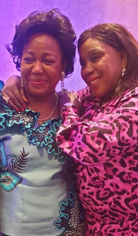 Hommage: Antoinette Sassou N'Guesso prend part à une messe d'action de grâce à Paris