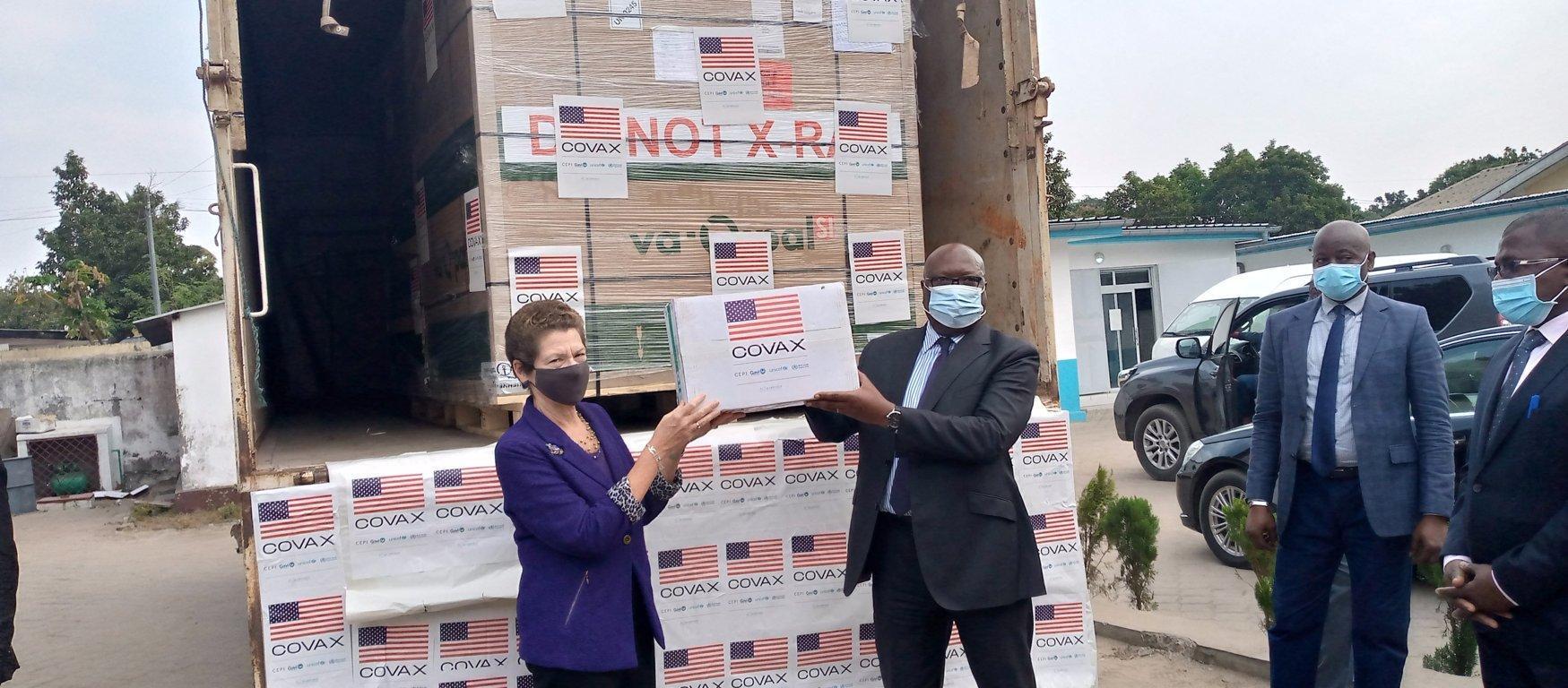 Covid-19 : 302 400 doses de vaccin Johnson & Johnson offertes au Congo