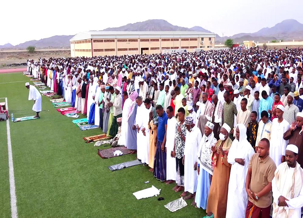 Les régions de l'intérieur célèbre la fête de l'Aïd.