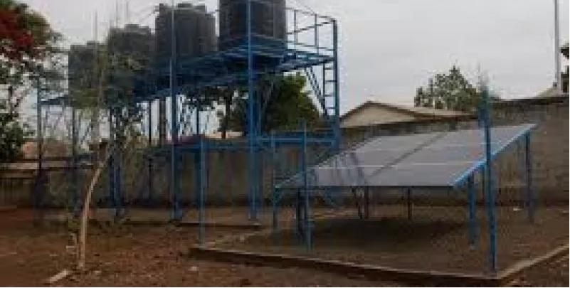 Lutte contre la pénurie d'eau/La population de Kisenso et Mont-Ngafula dotée des réservoirs en eau potable grâce au Projet PILAEP 2