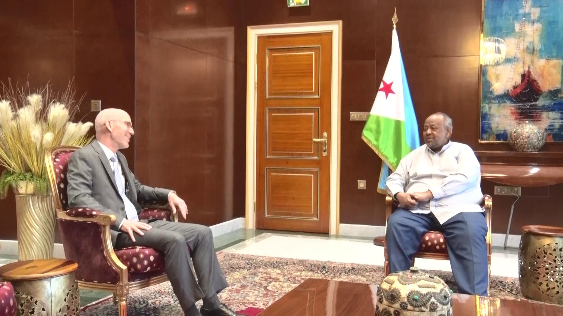 Djibouti/ONU: le chef de l'état reçoit le représentant spécial du secrétaire général pour la Somalie