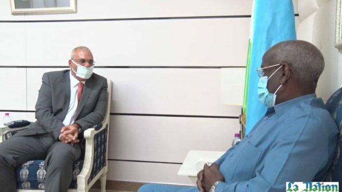 Visite d'adieu de Dr Mohamed Moustapha Orfy au Premier ministre