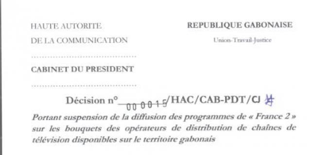 «Sédition», «haine», «rébellion»: pourquoi France 2 a été suspendue au Gabon