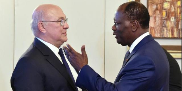«Le Franc, malgré son nom, est la monnaie des Africains», affirme le ministre français Michel Sapin