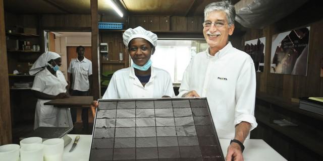 Claudio Corallo, maestro du cacao santoméen