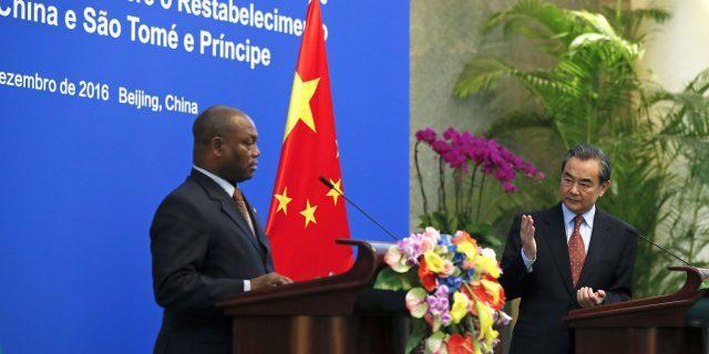 São Tomé-et-Príncipe officialise ses noces avec Pékin