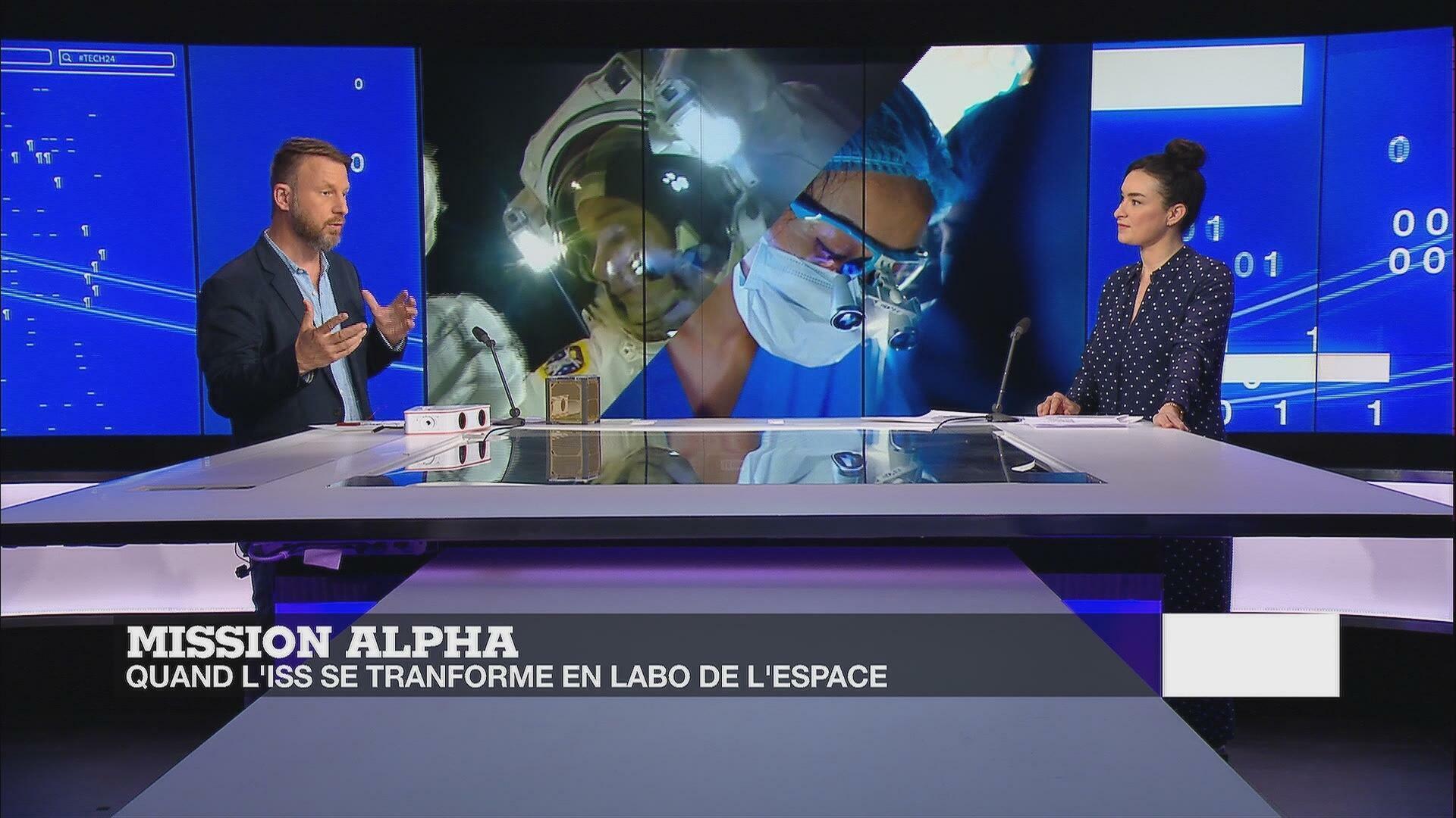 Mission Alpha : bienvenue dans le labo spatial de Thomas Pesquet