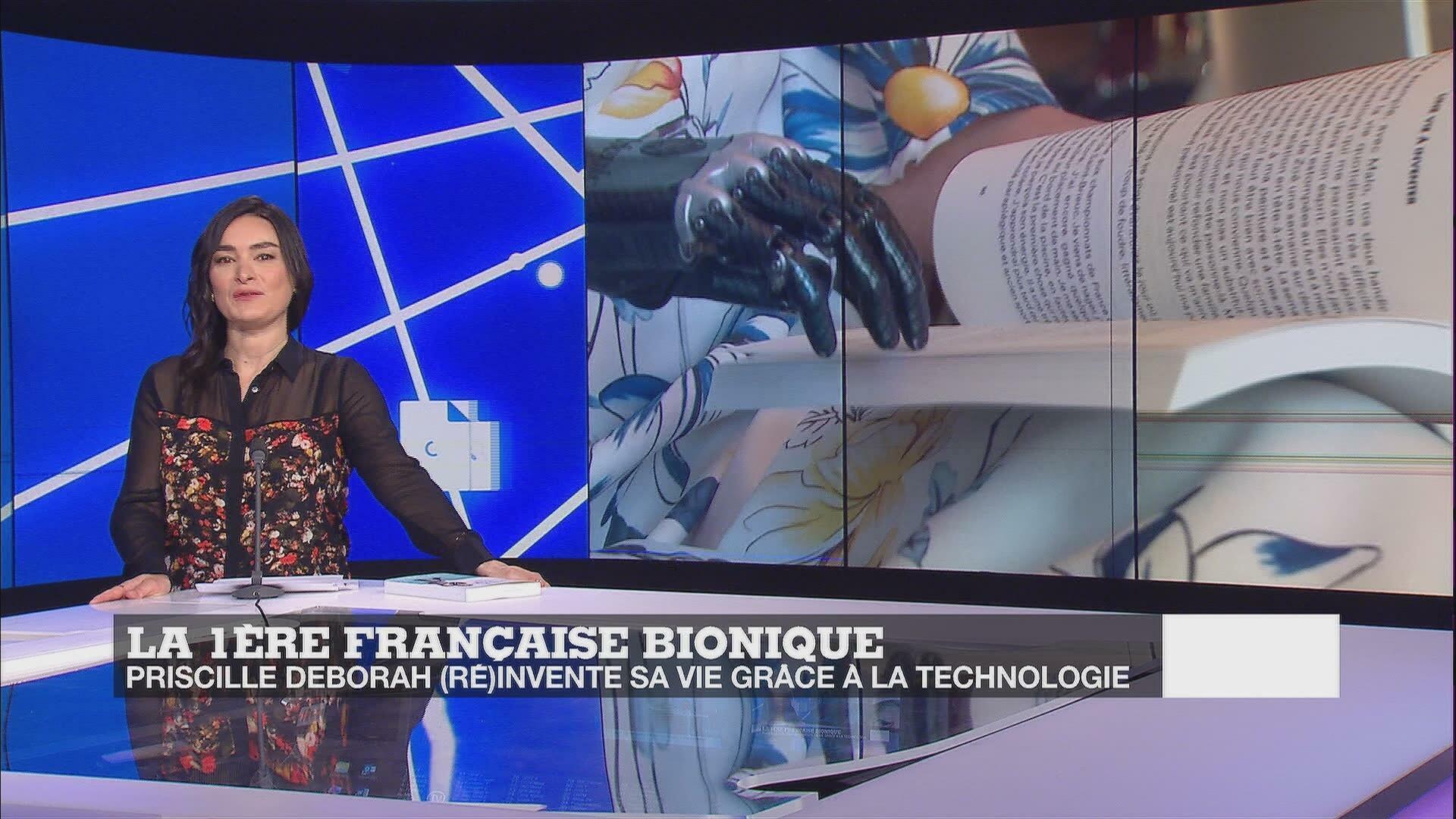 Une vie bionique : la Française Priscille Deborah commande son bras par la pensée