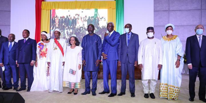 Prestation de serment d'Alpha Condé : le président guinéen appelle à «un sursaut national»
