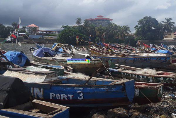 Forte pluie à Conakry : les difficultés des pêcheurs artisanaux