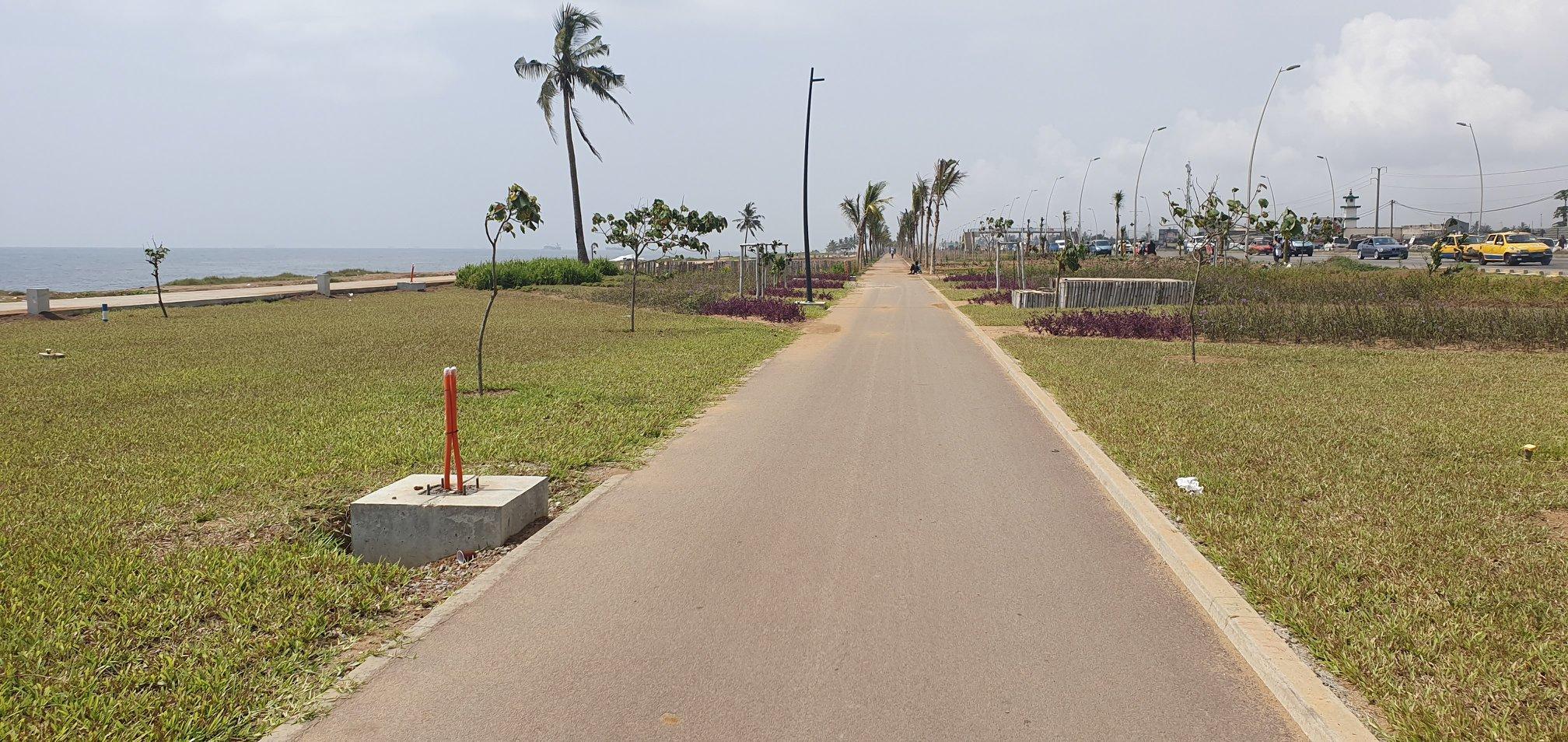 Côte-d'Ivoire: La promenade de Port-Bouët véritable joyau, un plaisir pour les yeux