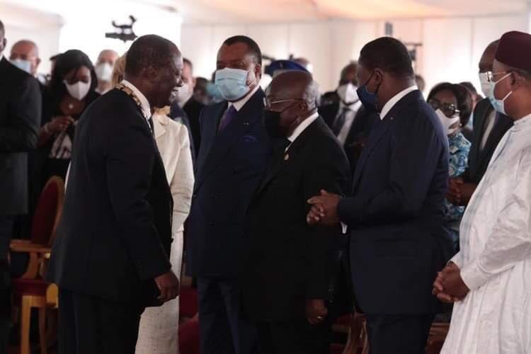 Côte-d'Ivoire: Ouattara à Accra pour la prestation de serment de Nana Akufo Addo