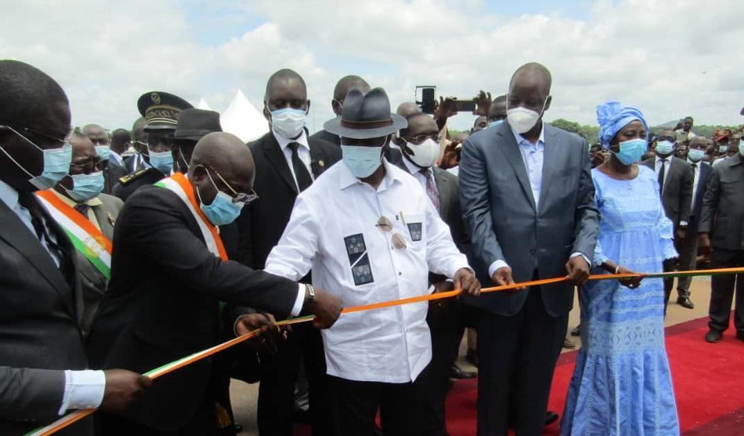 BTP: Ebomaf présente ses réalisations faites en 2020 en Côte-d'Ivoire