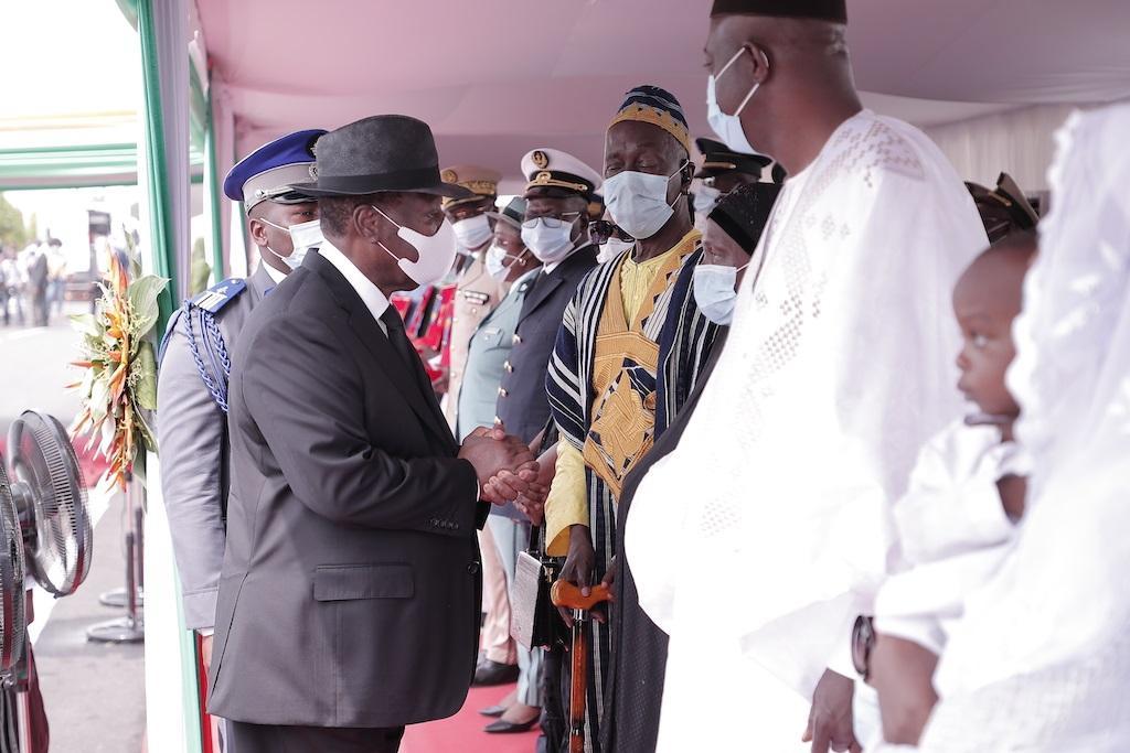 La Côte-d'Ivoire rend un «hommage de la Nation» à ses 4 casques bleus tombés au Mali