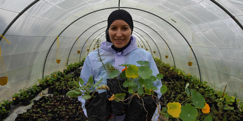 Sonia Ibidhi, l'entrepreneuse qui veut faire manger des fleurs aux Tunisiens