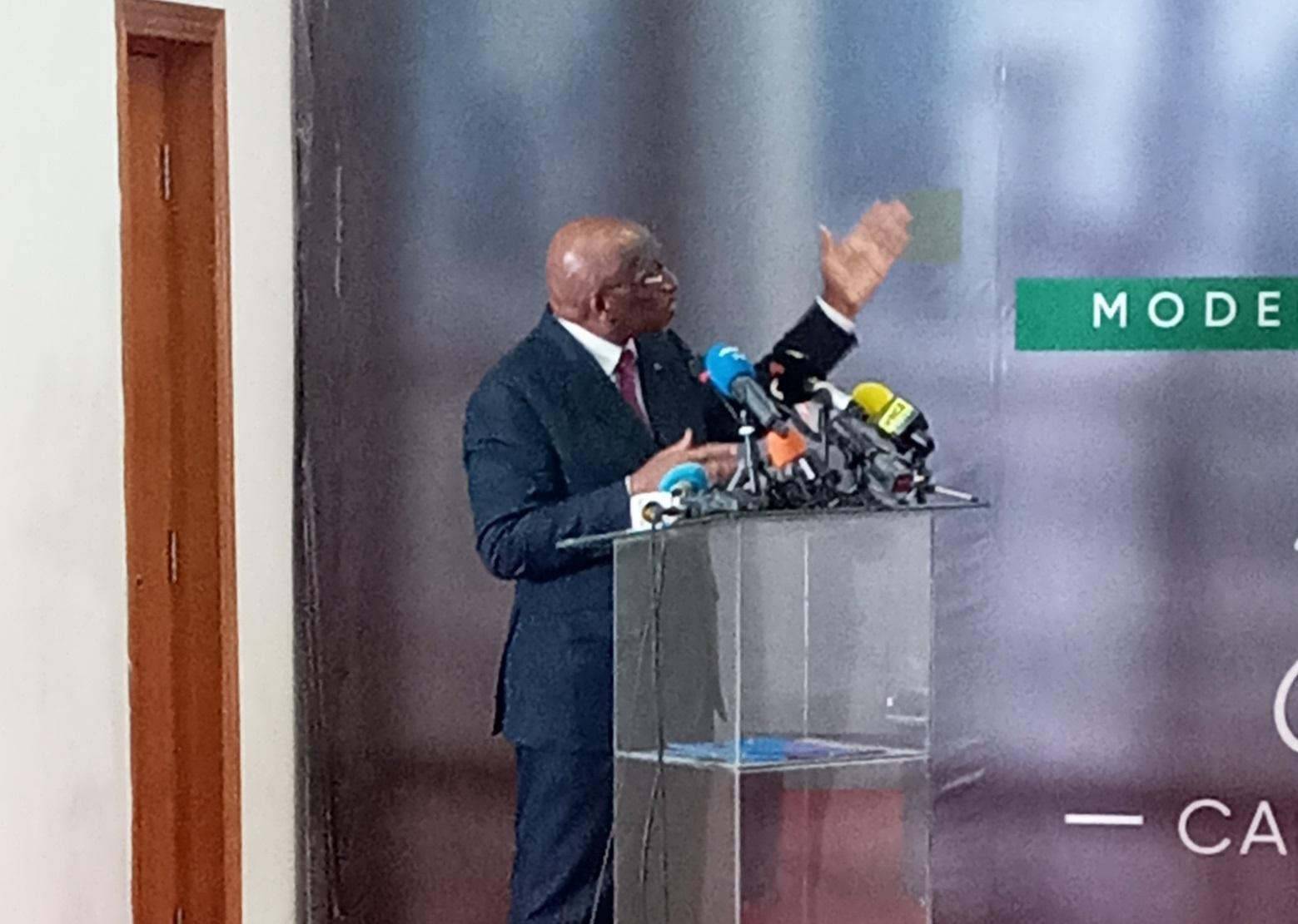 CAF: Jacques Anouma dans une posture souverainiste «C'est aux Africains de choisir leur leader»