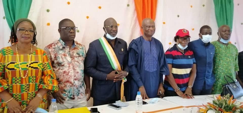 Facobly Côte-d'Ivoire: Évariste Méambly pour des élections apaisées et un vote utile