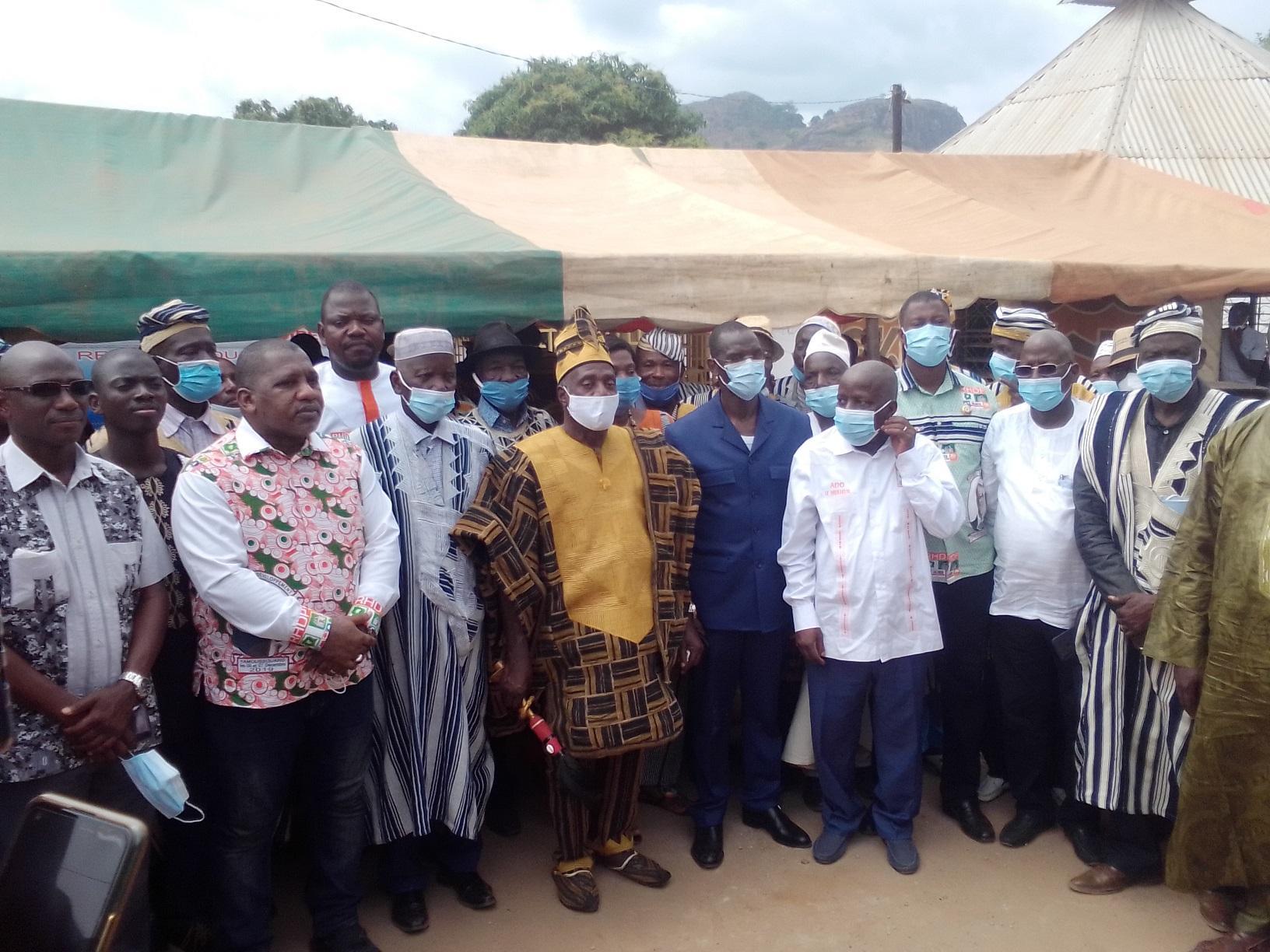 Côte-d'Ivoire: Les 12 candidats Rhdp du Tonkpi reçoivent «la bénédiction des chefs traditionnels»
