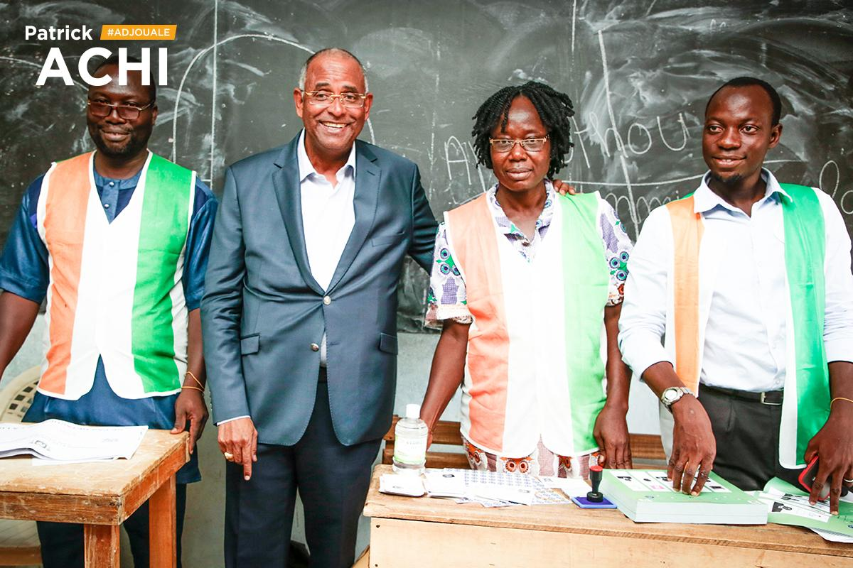 Côte-d'Ivoire: Patrick Achi, Ally Coulibaly, Affi élus…le Rhdp prend Gagnoa commune