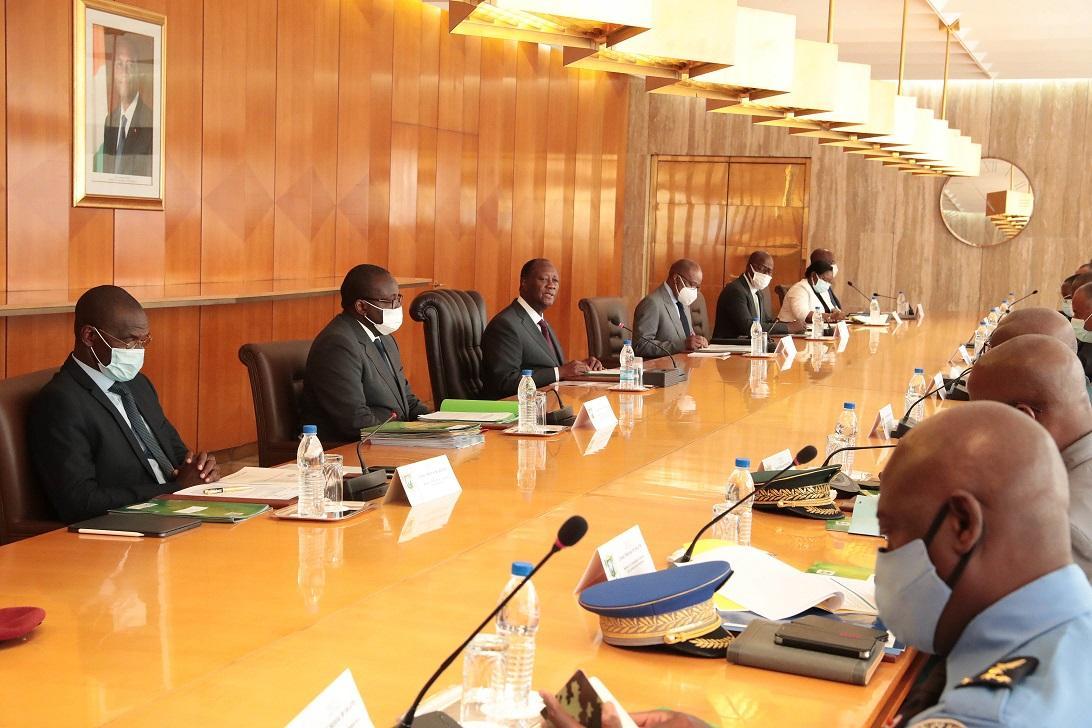 La Côte-d'Ivoire va généraliser et décentraliser la vaccination contre le covid-19 (Conseil National de Sécurité)