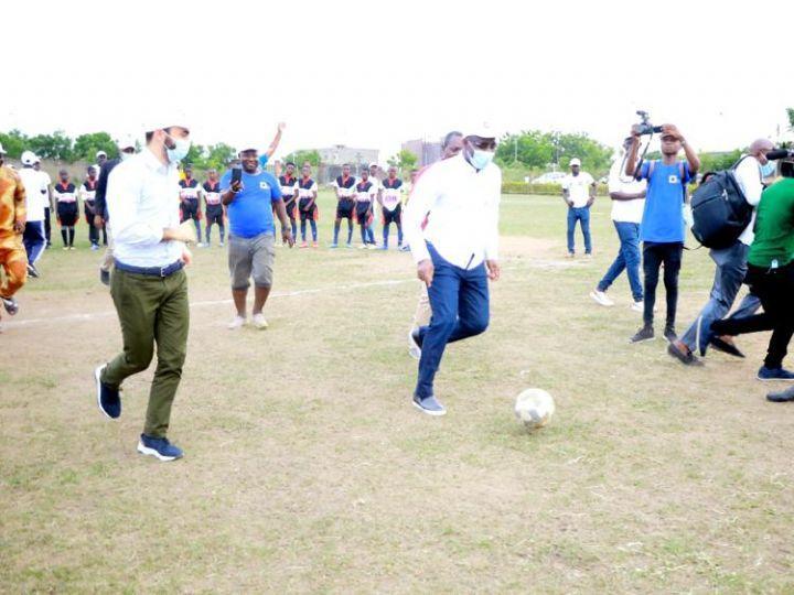 Yamoussoukro/Football: Finale du tournoi de l'académie PFO Africa