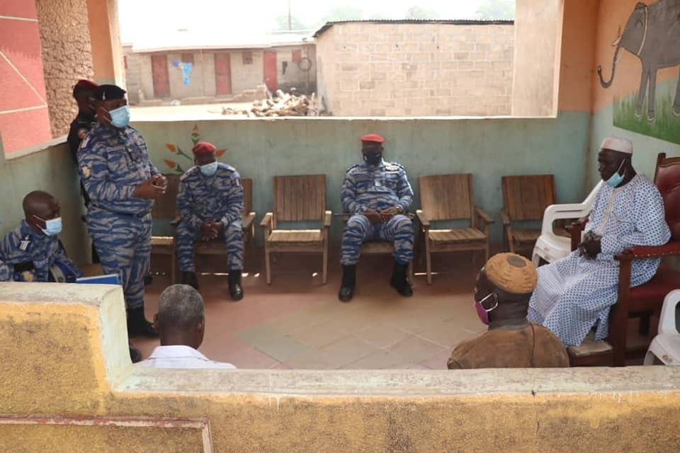 Défense: Sirasso et Koni…le général Apalo poursuit sa tournée dans le nord de la Côte-d'Ivoire
