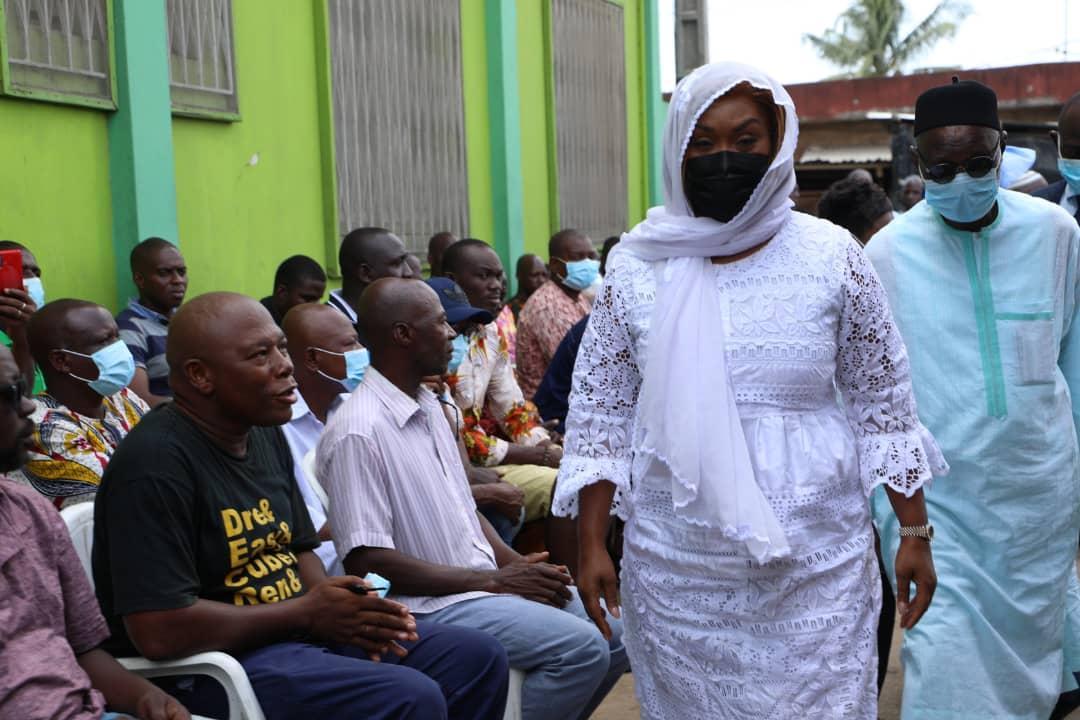 Côte d'Ivoire/ Noyade d'enfants à Marcory, incendie de Bouaké : Myss Belmonde apporte la compassion du gouvernement aux familles