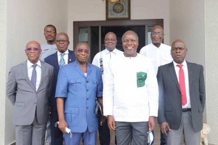 Retour de Gbagbo Côte-d'Ivoire: Emmanuel Monnet invite Mabri à «prendre sa place dans l'organisation»