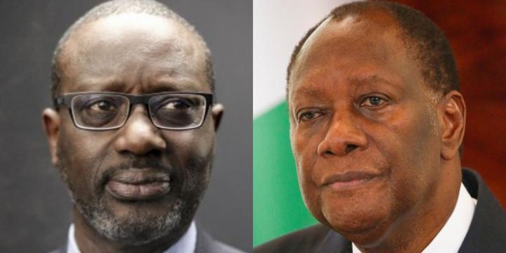 Côte d'Ivoire : Tidjane Thiam et Alassane Ouattara, les retrouvailles fortuites à l'Élysée