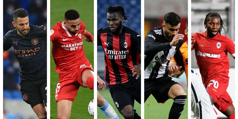 Football: cinq Africains qui ont brillé en Europe cette saison