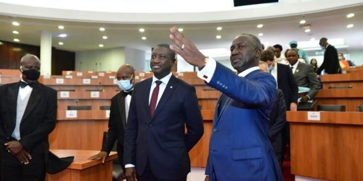 Côte d'Ivoire : de l'Assemblée au dîner chez Adama Bictogo, les coulisses de la visite des parlementaires français