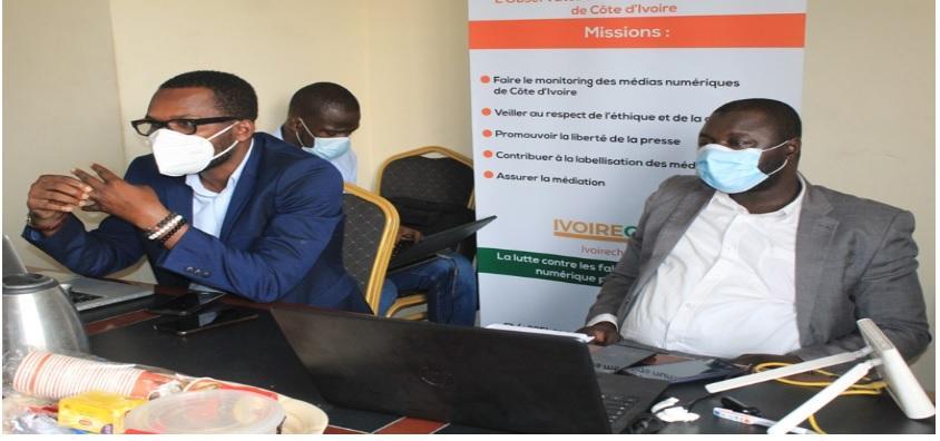Trois médias en ligne interpellés sur la véracité de leurs écrits en Côte d'Ivoire (rapport)