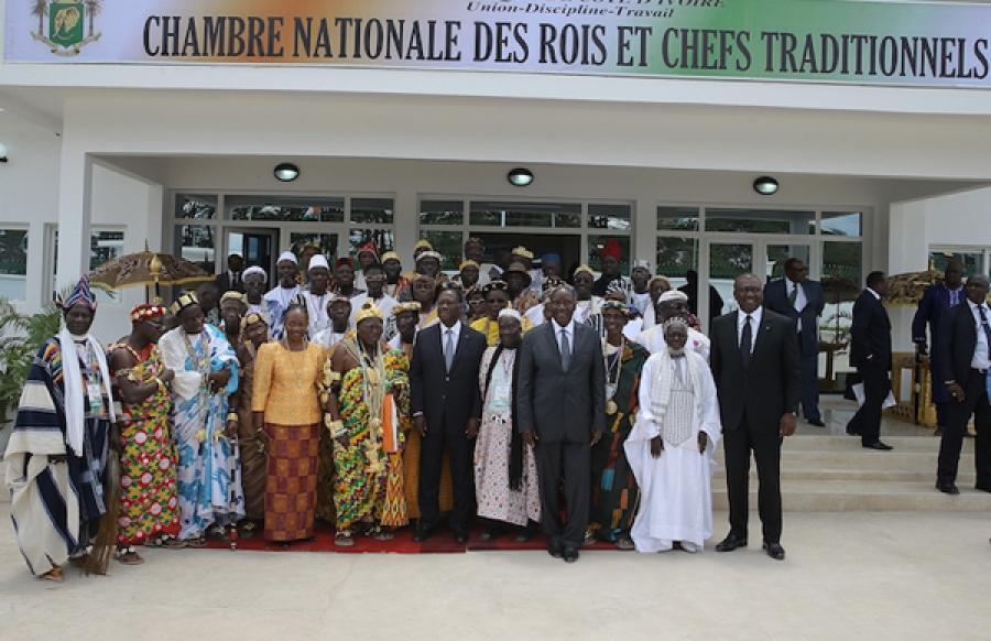 La Chambre des rois et chefs traditionnels en Côte-d'Ivoire «salue et approuve le retour de Gbagbo»