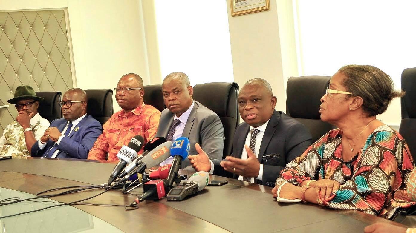 «Le gouvernement n'a indiqué de restrictions» pour l'accueil de Gbagbo en Côte-d'Ivoire, selon Katinan